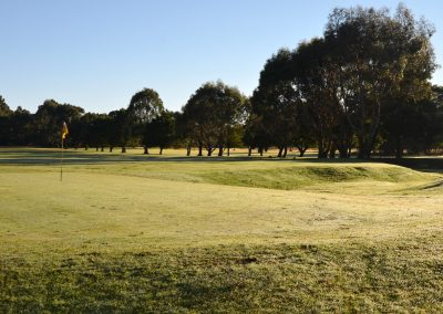 Strahan Golf Course winter's day
