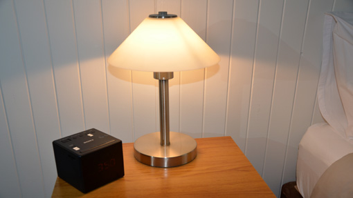 Touch Lamps & Clock Radio